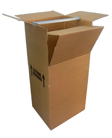 Wardrobe box.